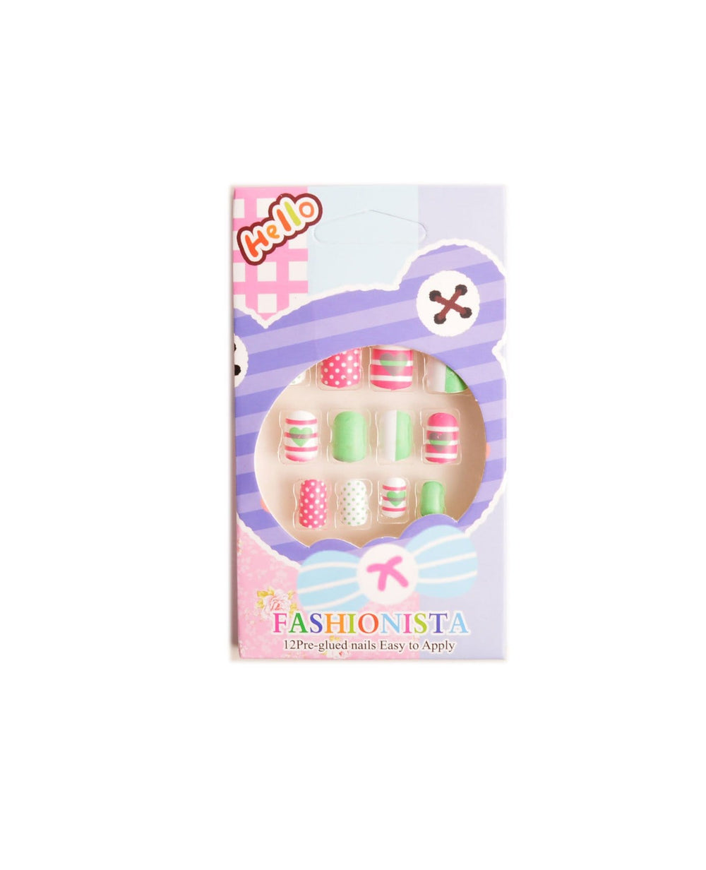 Fashionista Princess Press-On Nails