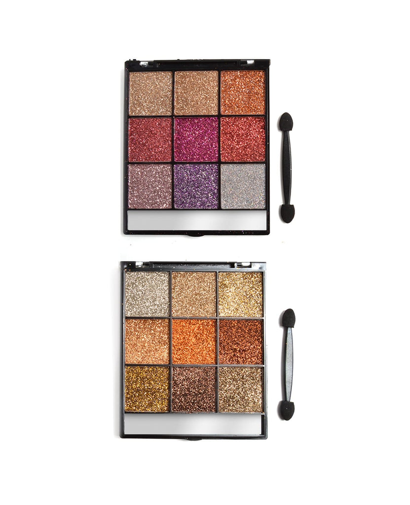 Amuse Pressed Glitter Eyeshadow Palette