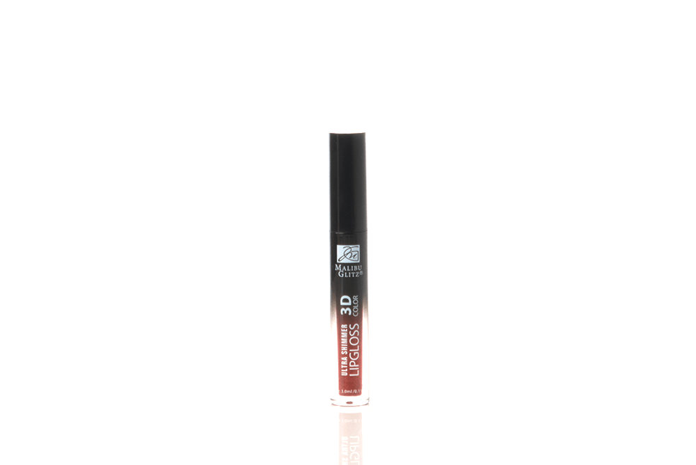 Malibu Glitz 3D Color Ultra Shimmer Lip Gloss - Reds, COSMETIC