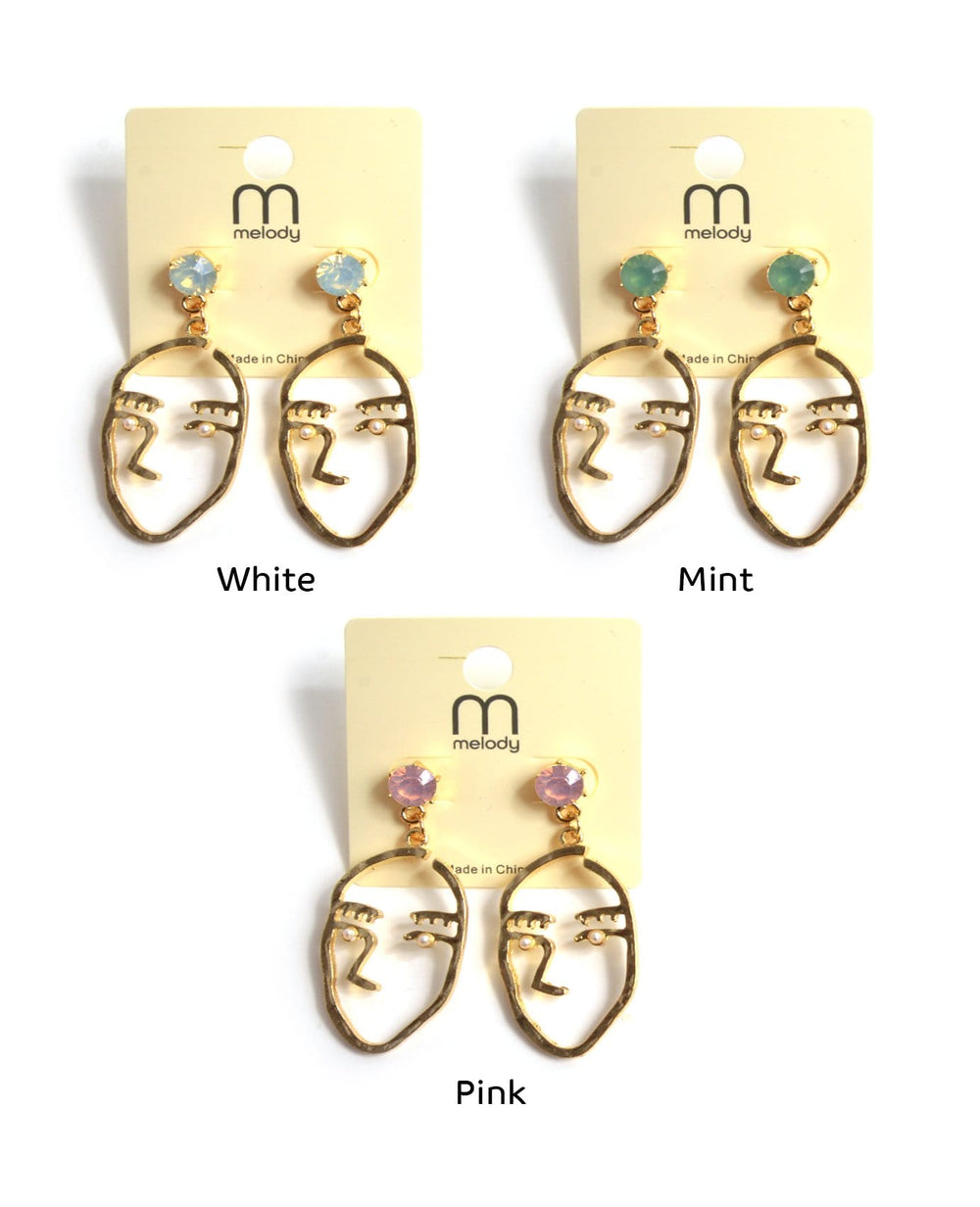 Face To Face Earrings