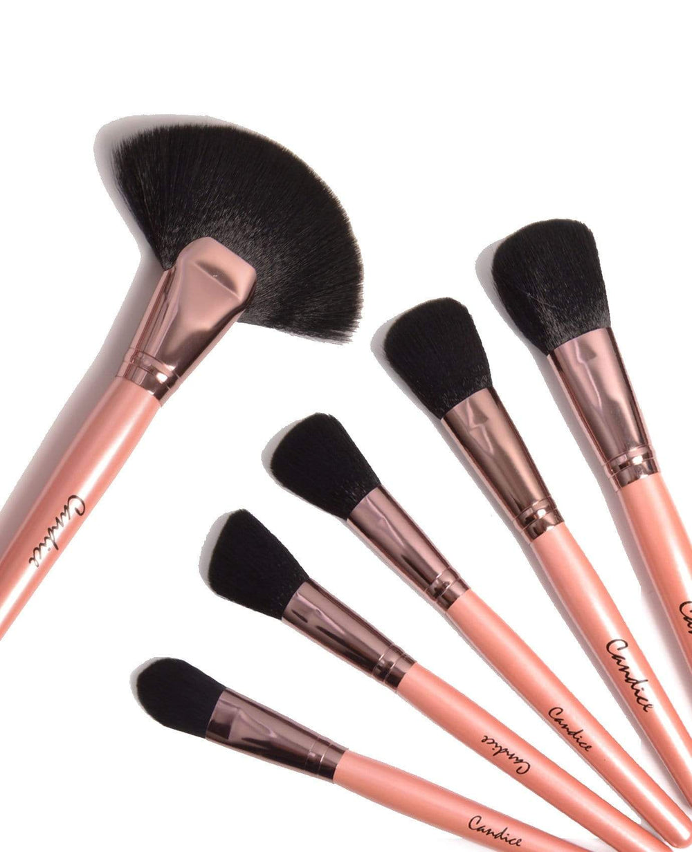 Candice Rose Gold - 24 Pc Brush Set