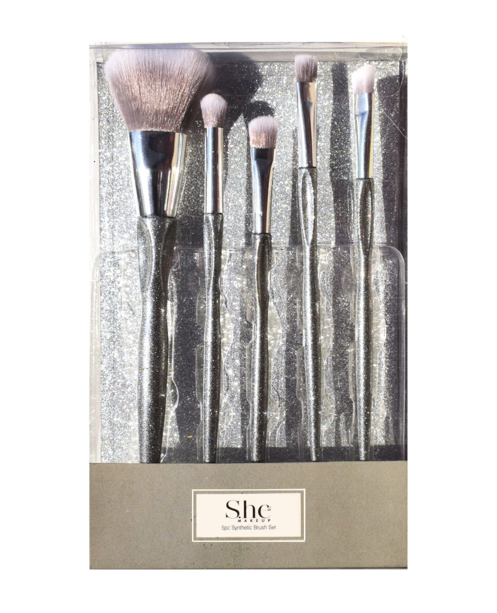 S.he Silver Brush Set