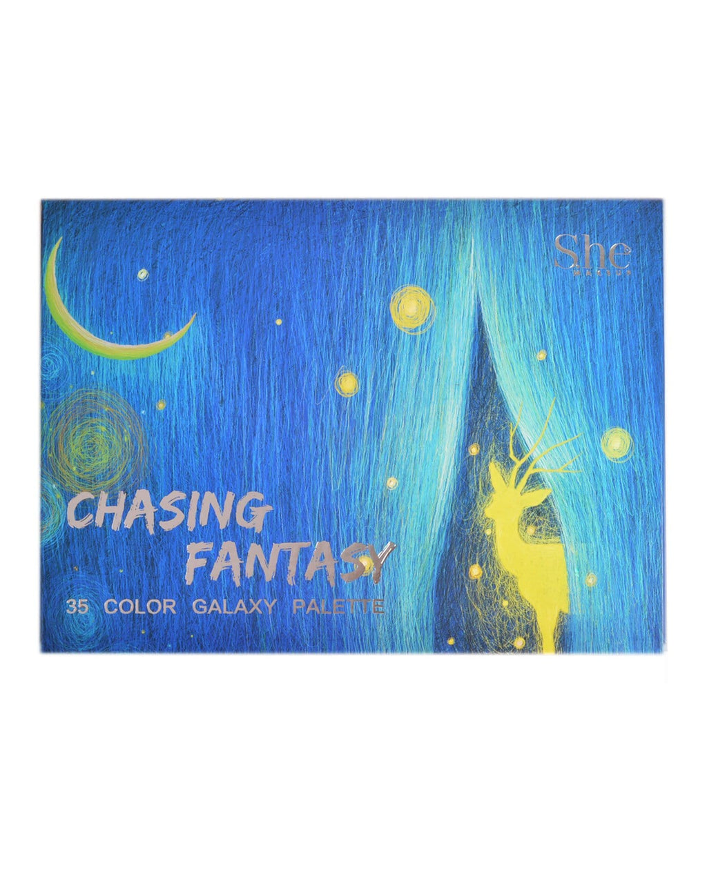 S.he Chasing Fantasy 35 Color Galaxy Palette