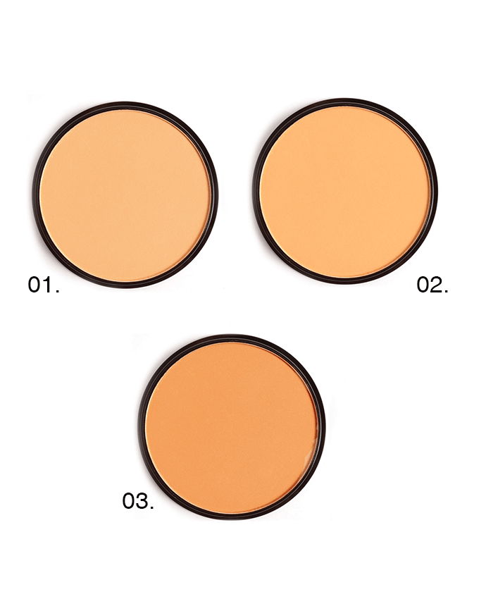 Santee Mineral Compact Powder ( Medium Shades), COSMETICS