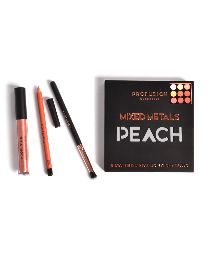 Profusion Mixed Metals Eyes & Lips- Peach, COSMETIC