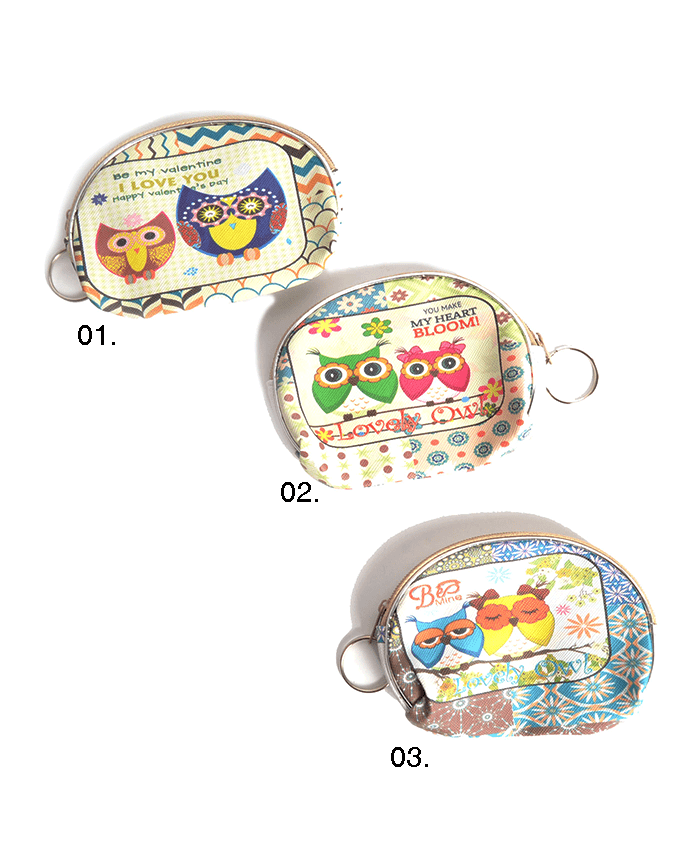 It's Owl Good Coin Purse- 6 Styles