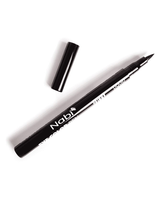 Nabi Eye Color Pen Waterproof Skinny Eyeliner- Black, COSMETIC