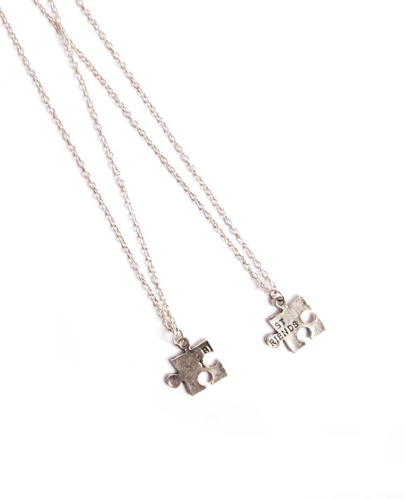 Best Friends Charm Necklace Set
