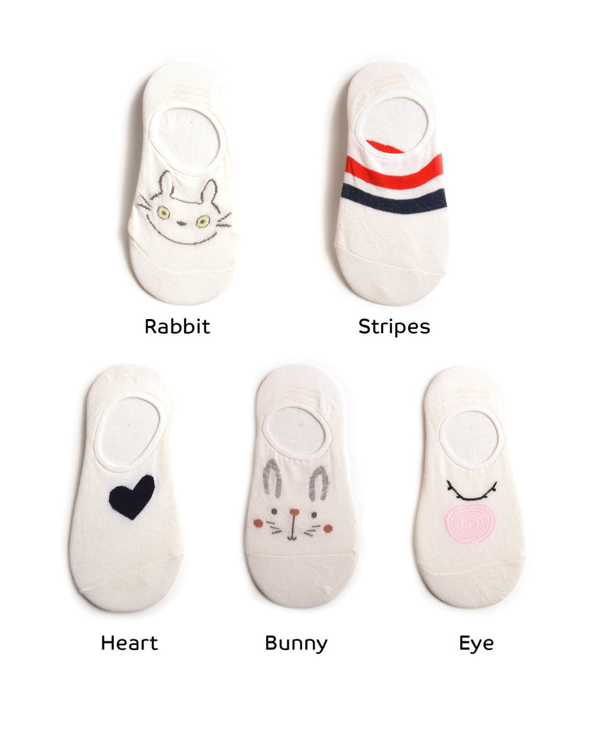 Drawing On White Socks
