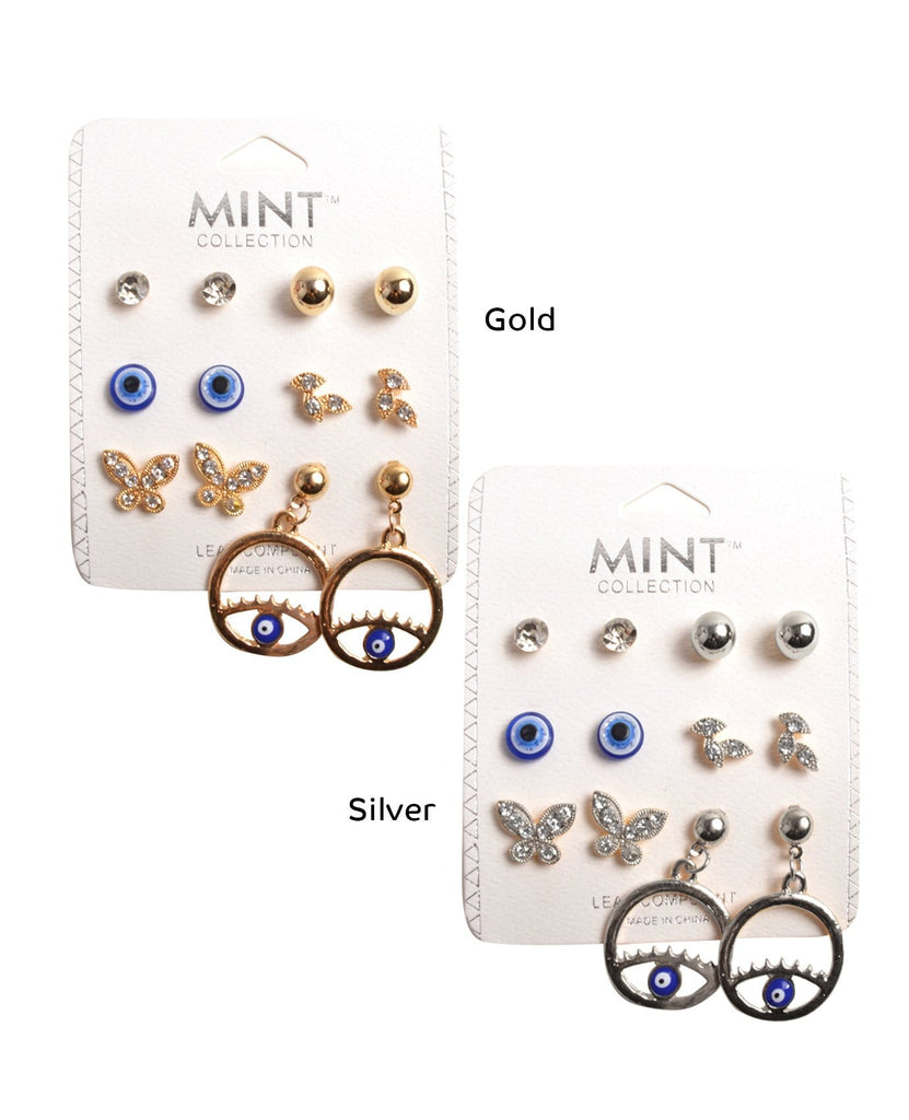 Eyes of Love Earrings Set