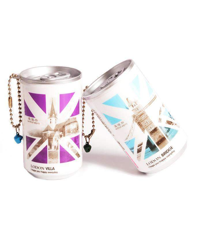 Soda Pop Can Travel Wet Wipes - London, ACCESSORIES