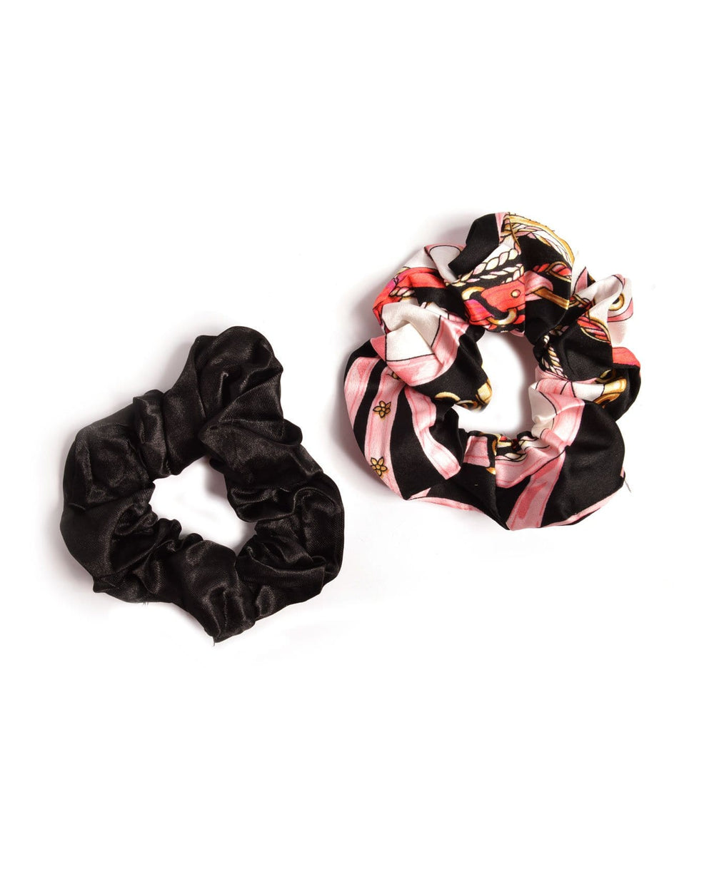 Chains & Belts Hair Scrunchies
