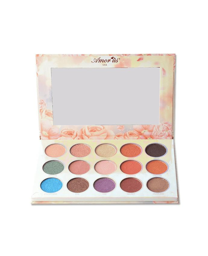 Amor Us Flora - 15 Shade Eyeshadow Palette, COSMETIC