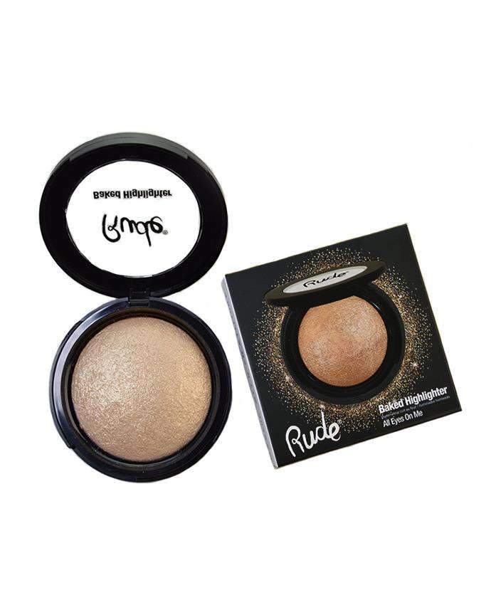 Rude Baked Highlighter- All Eyes On Me, COSMETIC