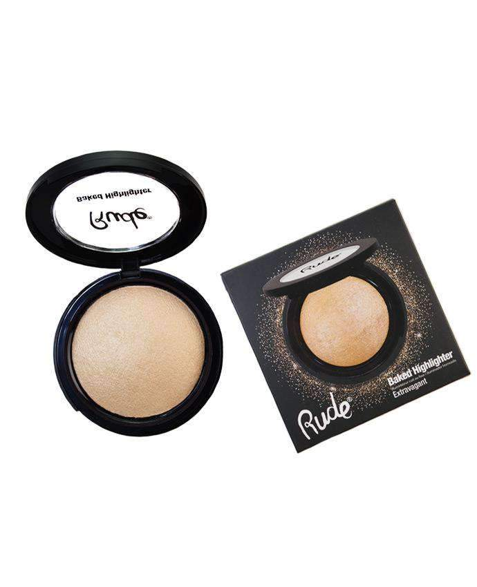 Rude Baked Highlighter- Extravagant