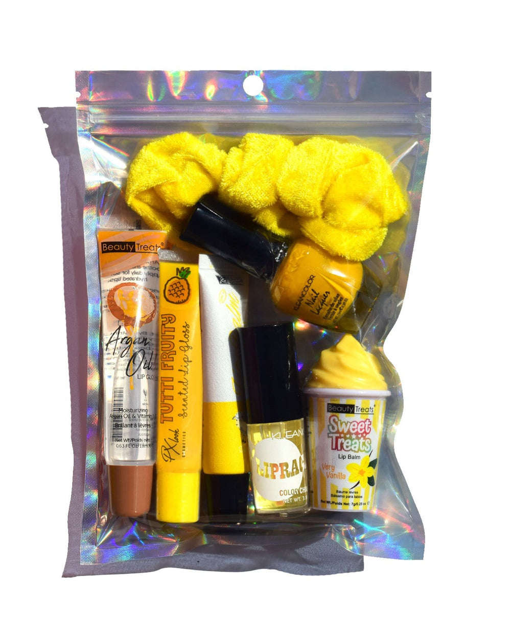Yellow Lip Gloss Bundle