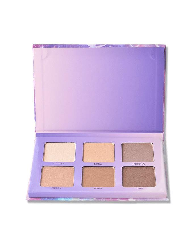 Amuse Radiant Glow - 6 Shade Contour Palette, COSMETIC