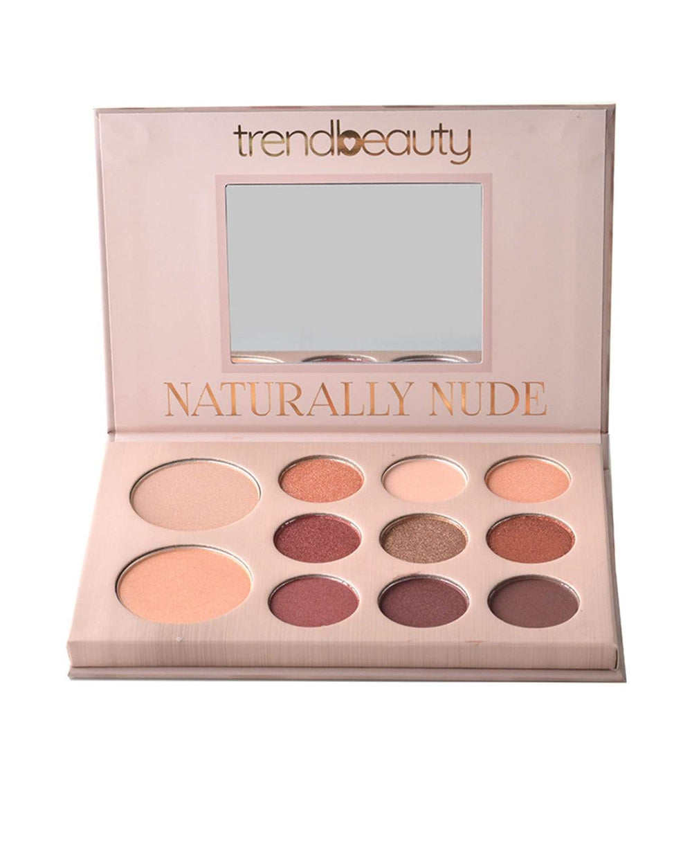 Trend Beauty Naturally Nude Eyeshadow & Contour Palette