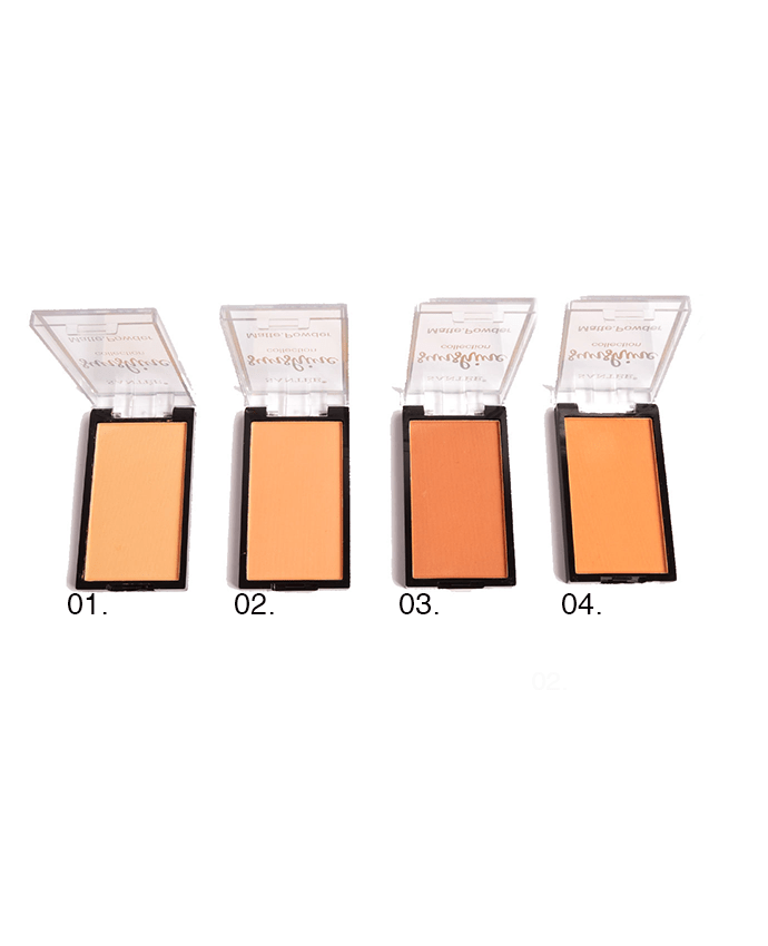 Santee Sunshine Collection Matte. Powder, COSMETIC