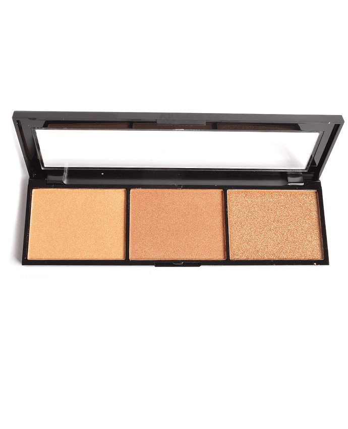 Amuse Triple Threat Highlight Palette, COSMETIC