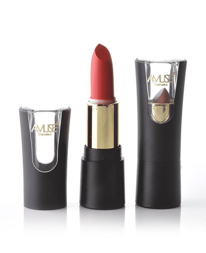 Amuse Vintage Romance Red Lipsticks, COSMETIC
