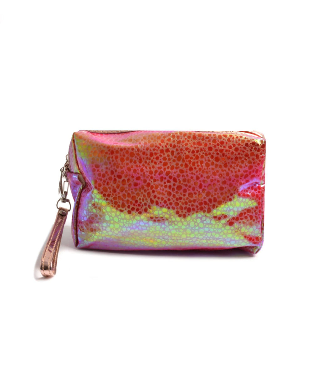 Chic Holographic Cosmetic Bag