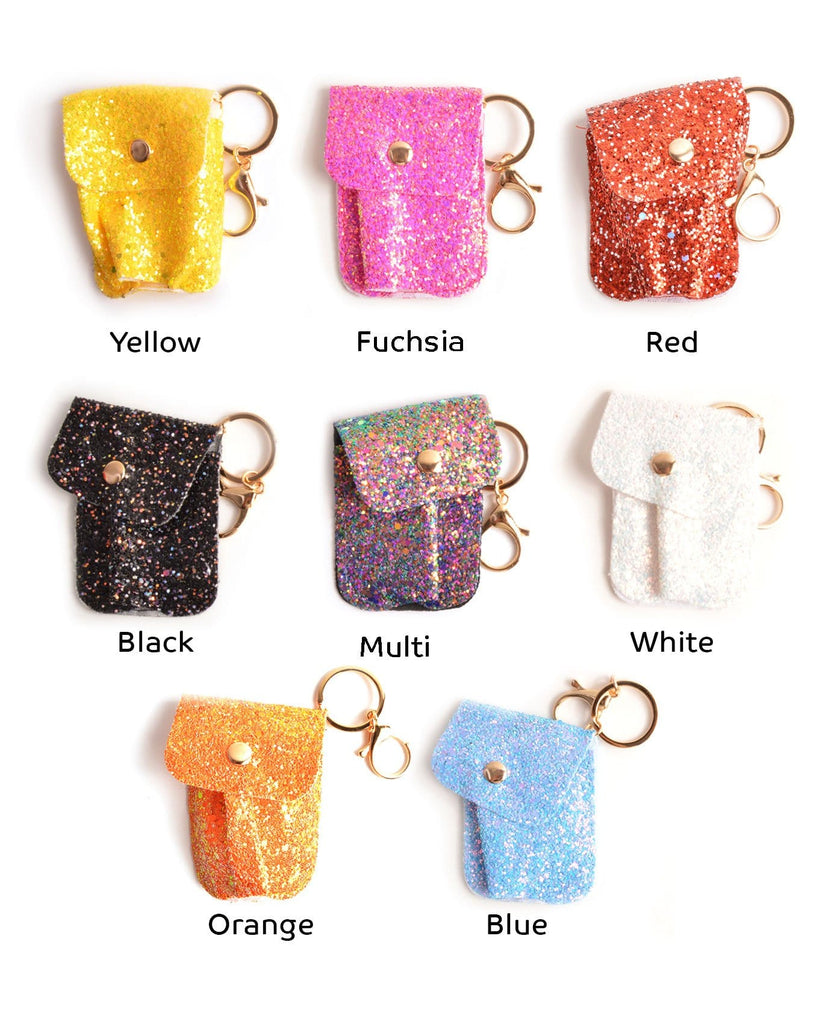 Glittery Hand Sanitizer Bag