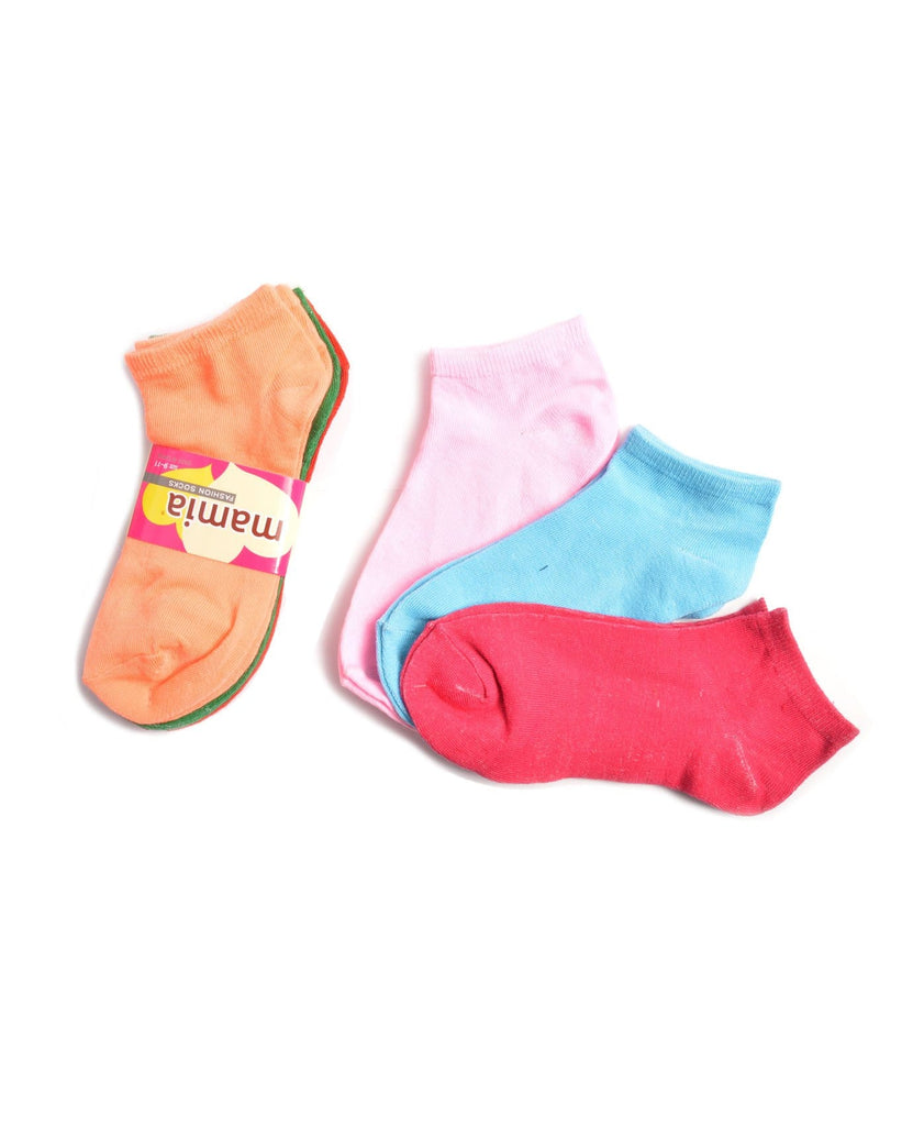 Mamia Solid Women's Fashion Socks