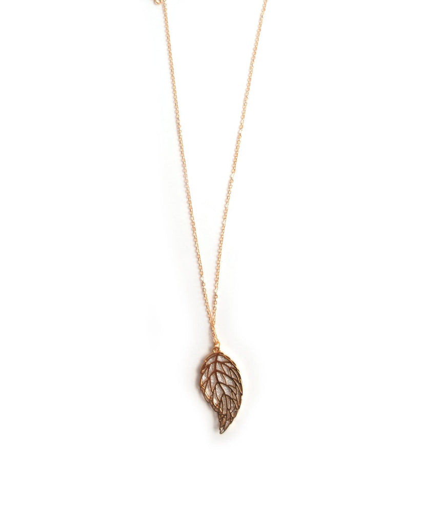 The Secret of Leaves Necklace