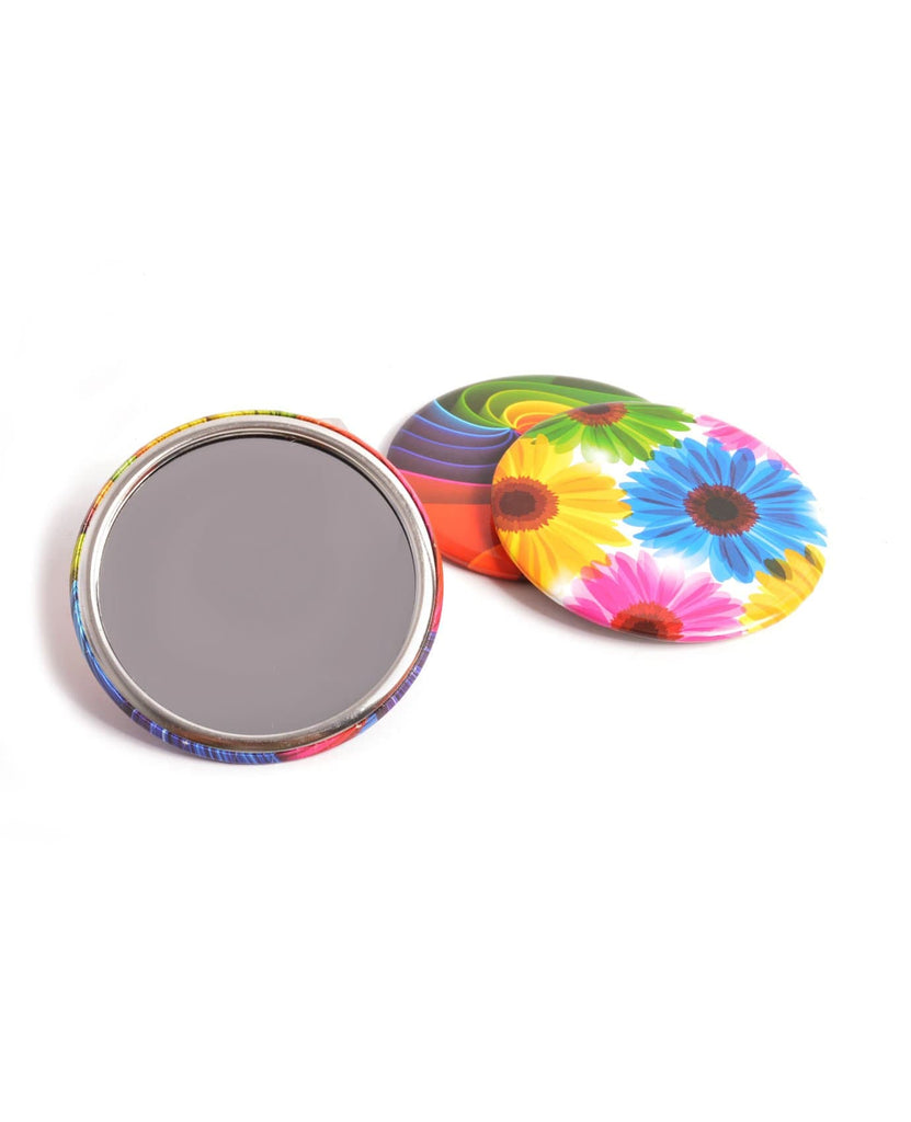 Splash Of Colour Tin Plate Pocket Mirror, ACCESSORIES