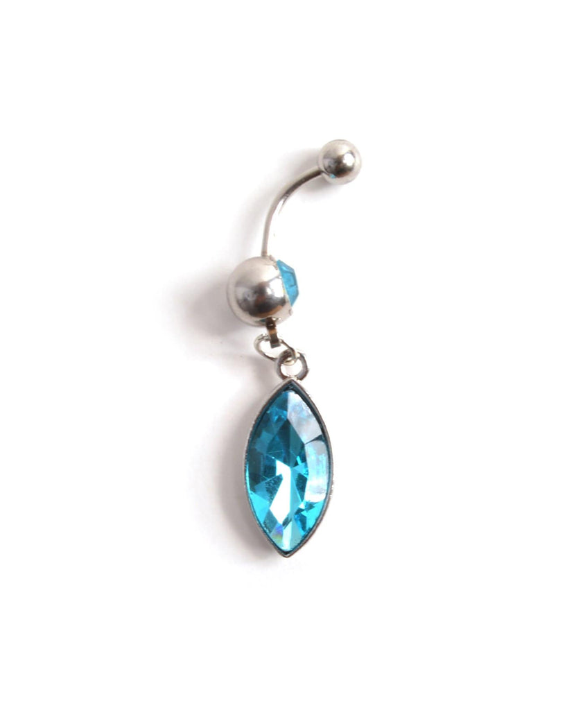 Marquise Belly Ring