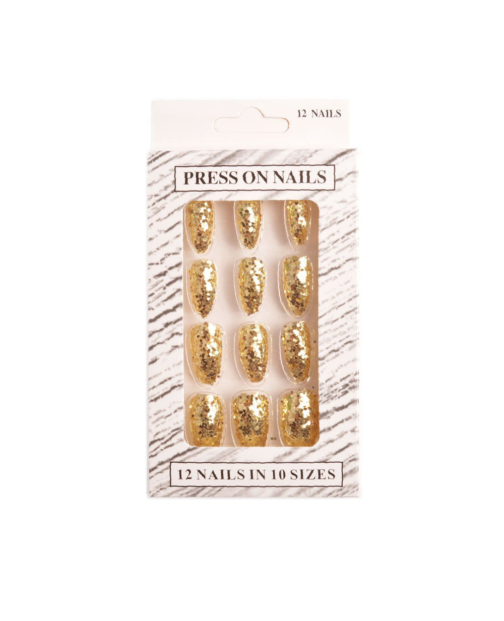 Glitter Press-On Nails