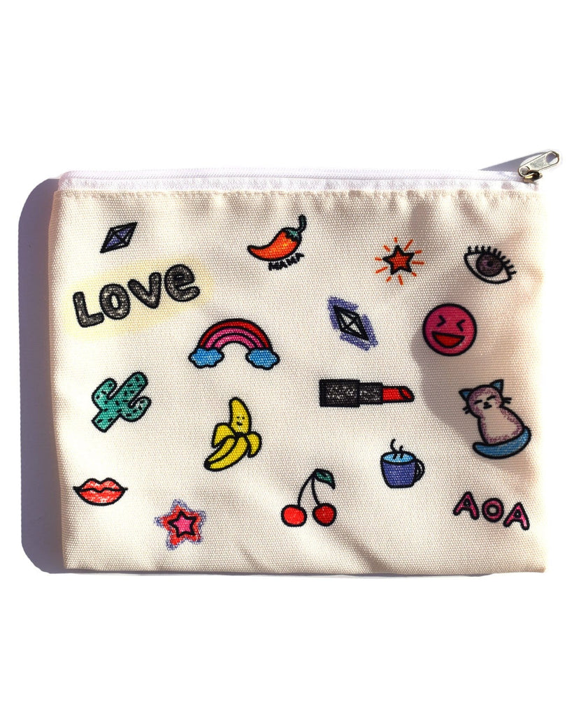 Girly Girl Cosmetic Bag