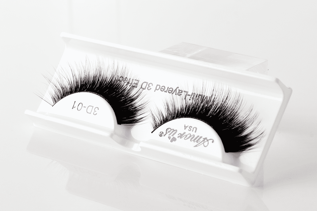 Amor Us 3D Faux Mink Eyelashes - 01, Eyelash