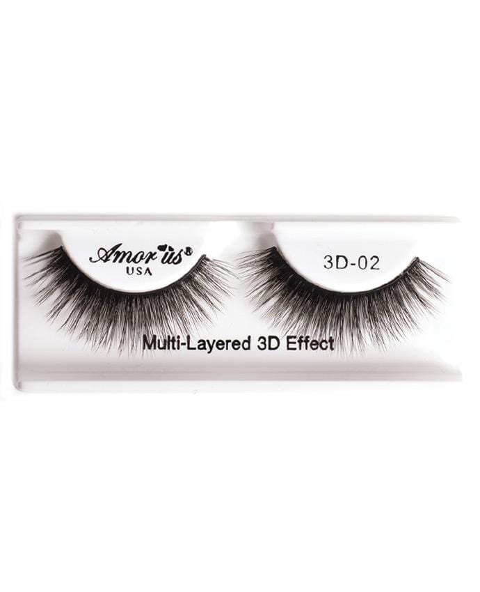 Amor Us 3D Faux Mink Eyelashes - 02, Eyelash