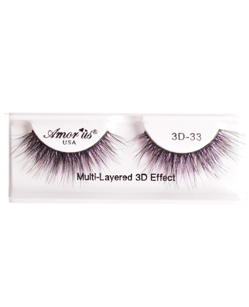 Amor Us 3D Faux Mink Eyelashes- 33, Eyelash