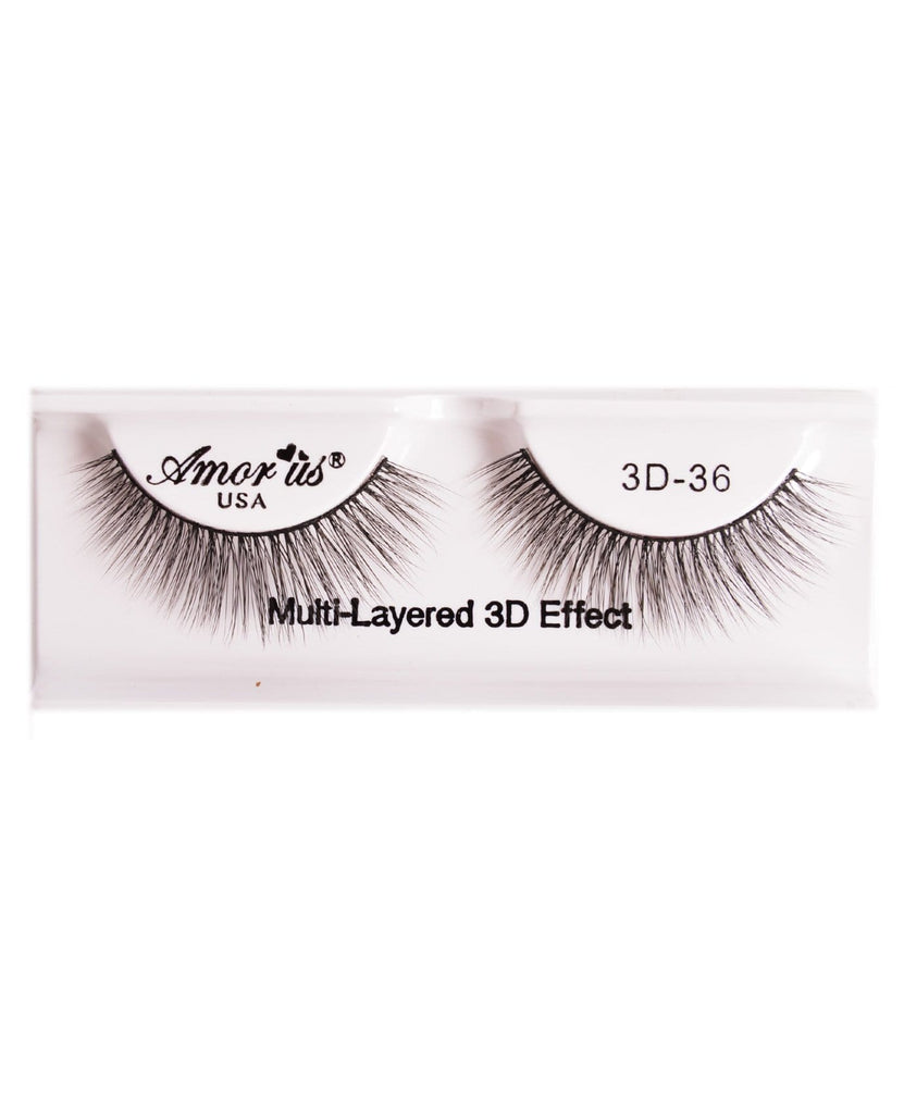 Amor Us 3D Faux Mink Eyelashes- 36, Eyelash