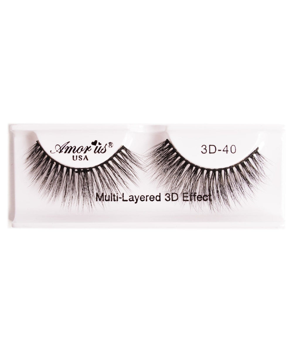 Amor Us 3D Faux Mink Eyelashes- 40, Eyelash