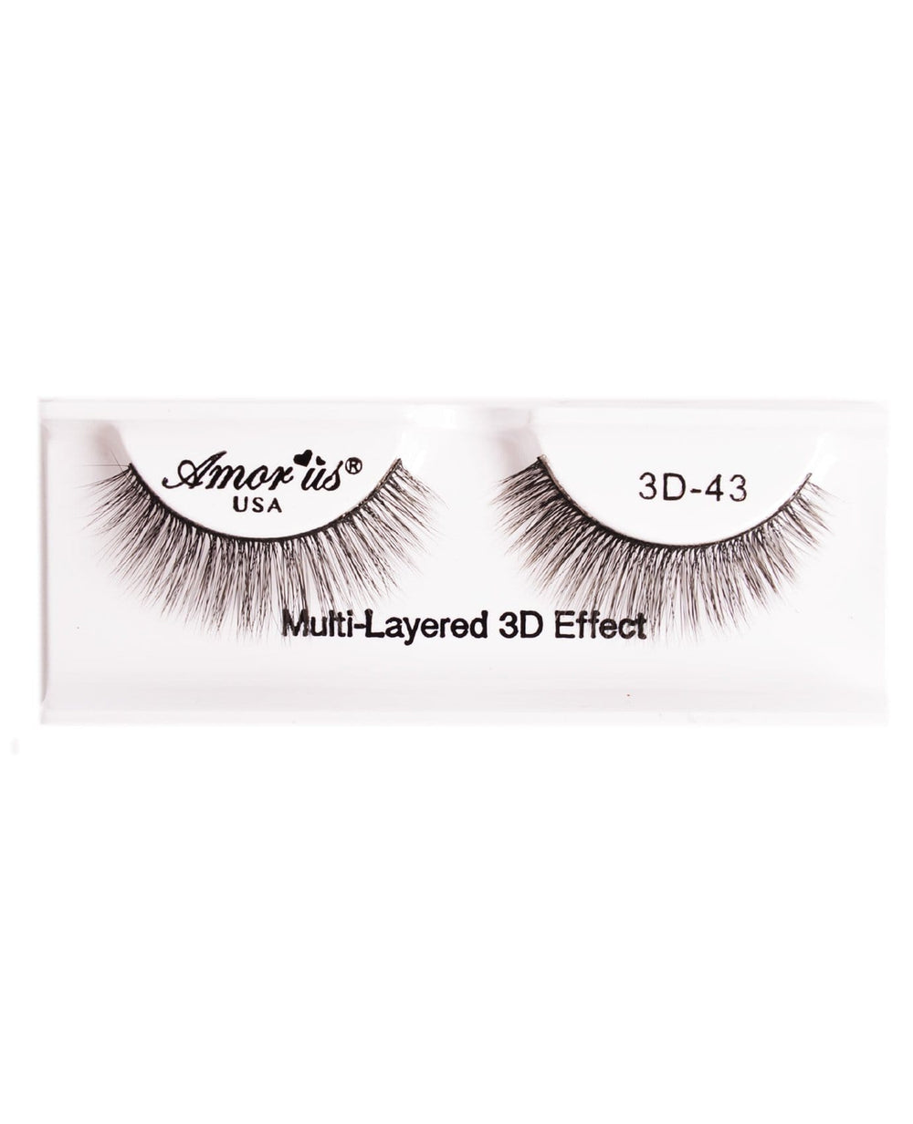 Amor Us 3D Faux Mink Eyelashes- 43, Eyelash