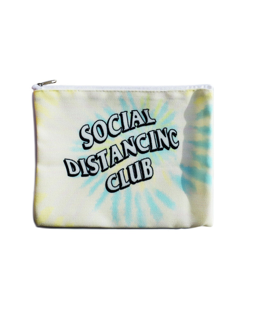 Social Distancing Club Cosmetic Bag