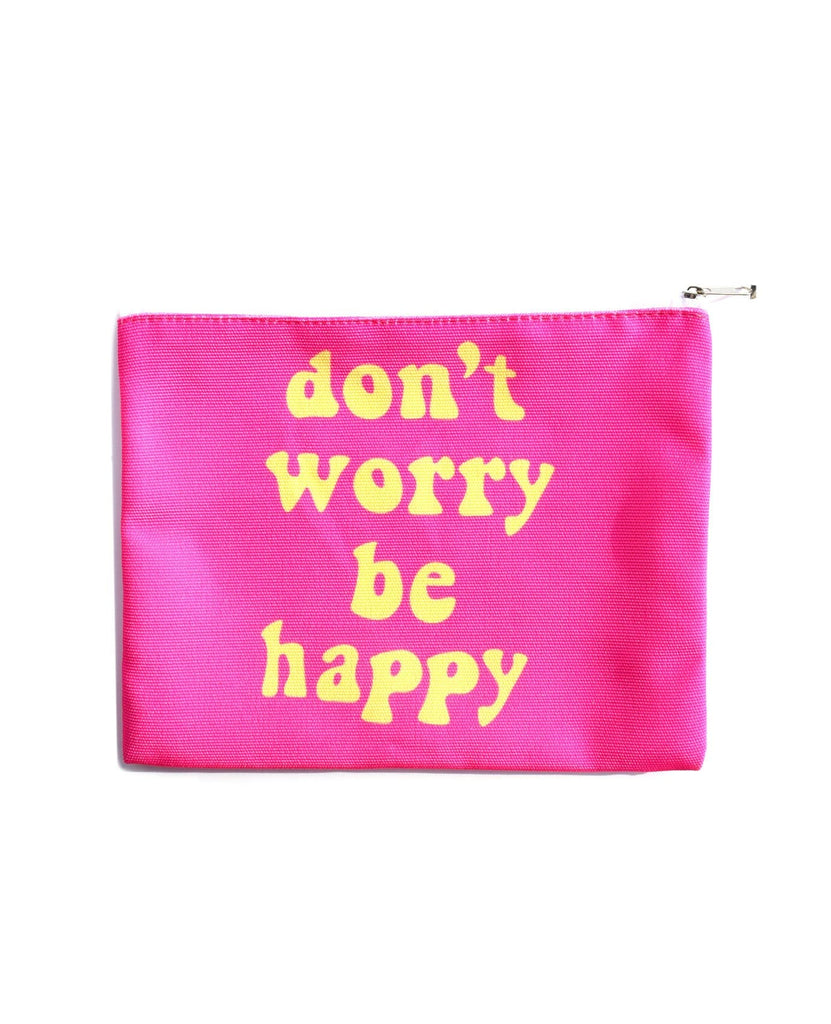 Don't Worry Be Happy Cosmetic Bag