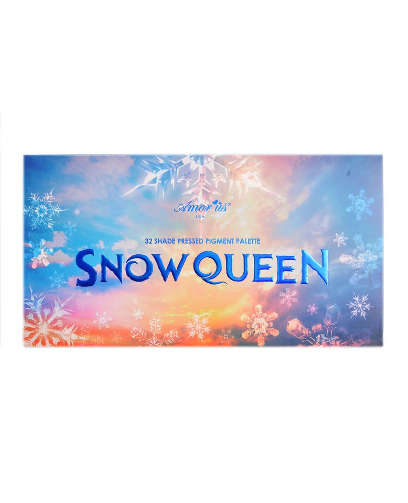 Amor Us Snow Queen 32 Shade Pressed Pigment Palette
