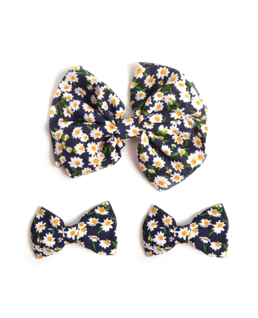Flower Garden Hair Bow Set