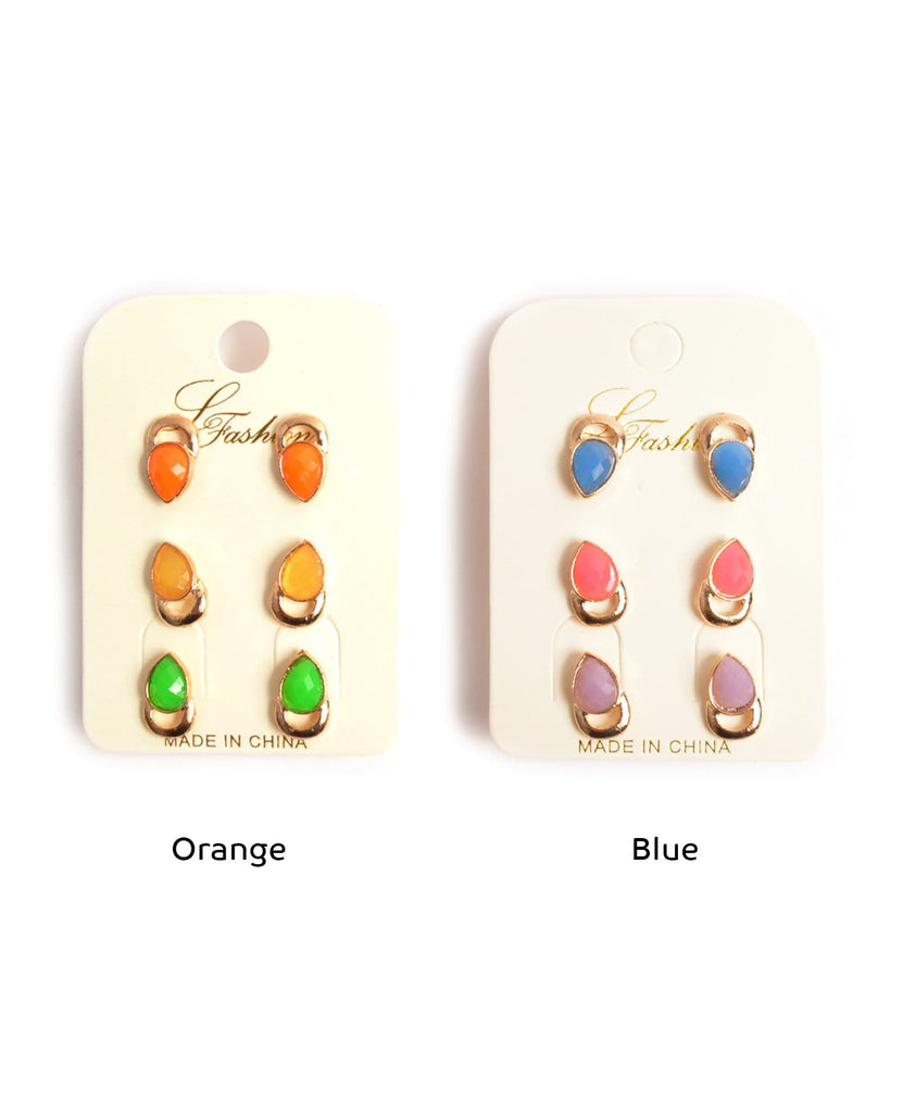 Fresh Colors Earring Set