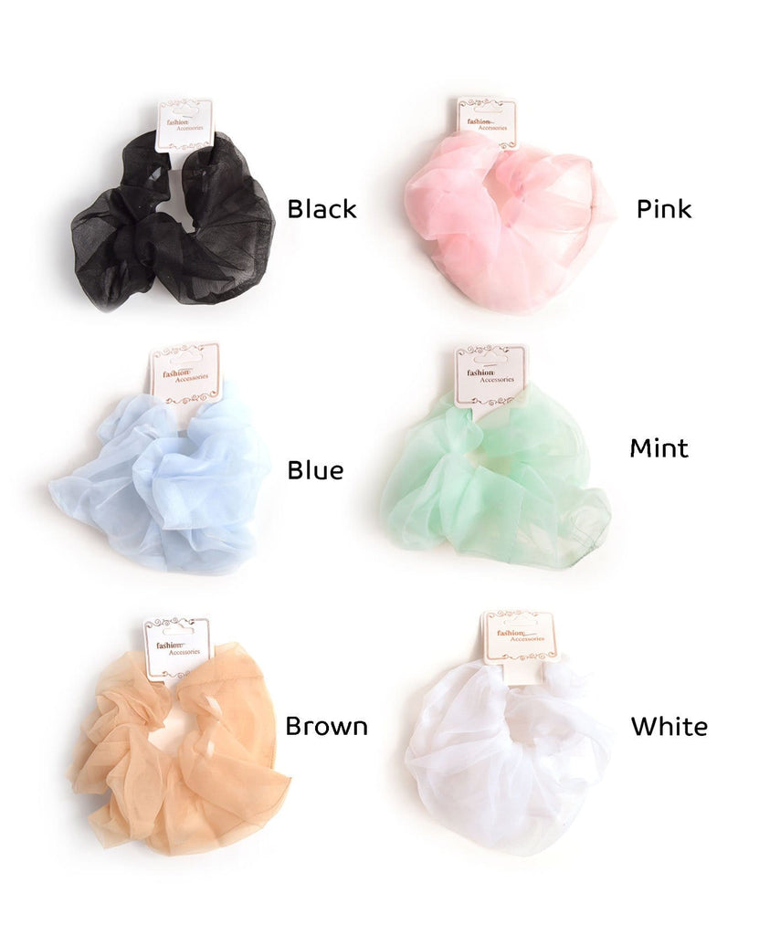 Giant Organza Scrunchie