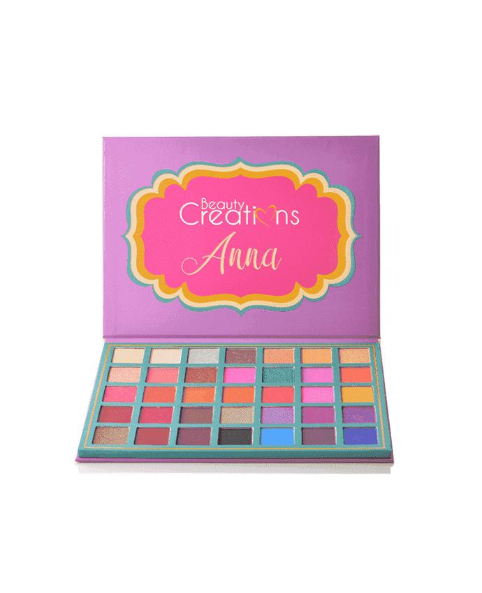 Beauty Creations Anna - 35 Shade Eyeshadow Palette, COSMETIC