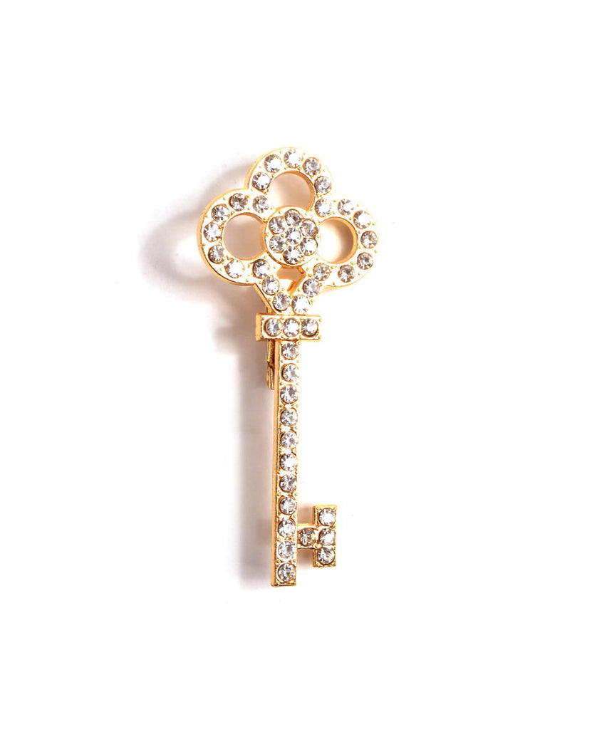 Key To My Heart Brooch