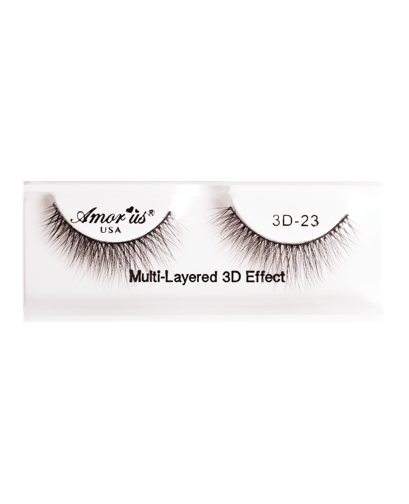 Amor Us 3D Faux Mink Eyelashes- 23, Eyelash