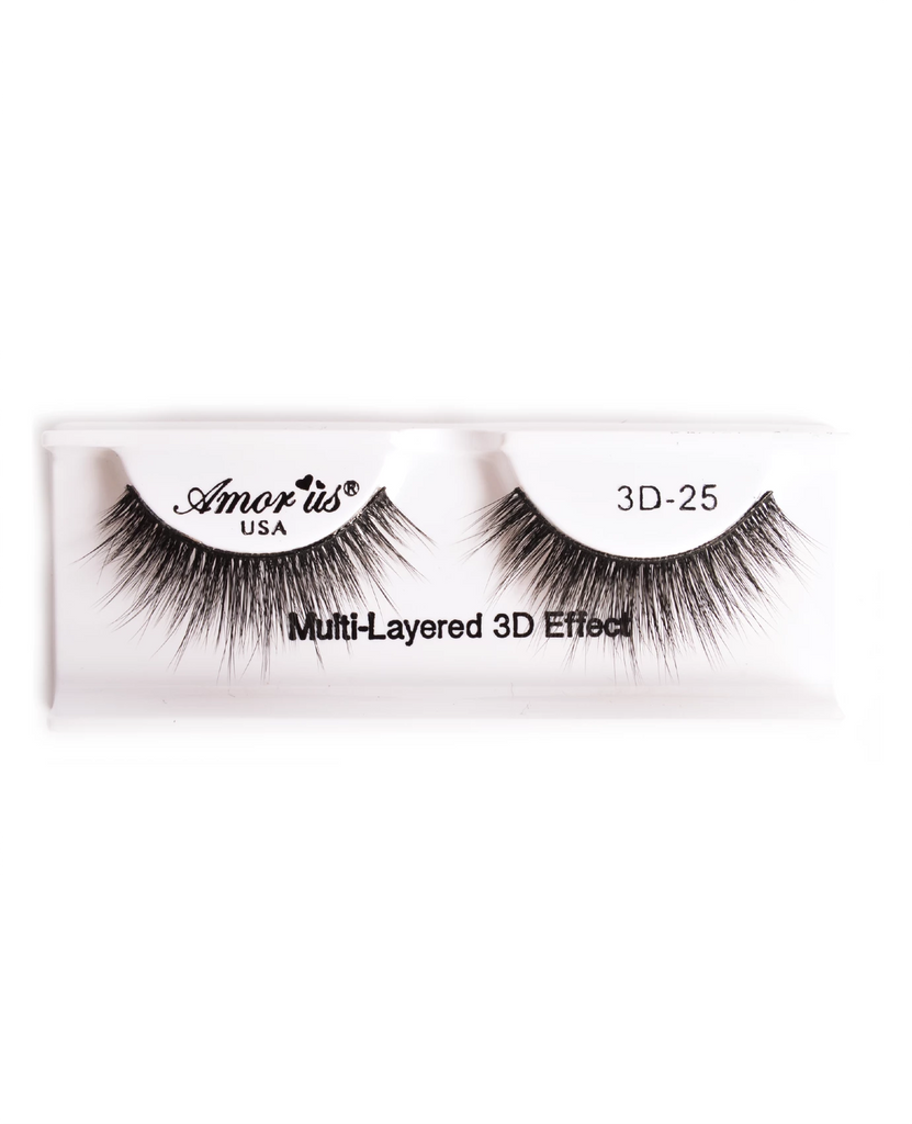 Amor Us 3D Faux Mink Eyelashes- 25, Eyelash