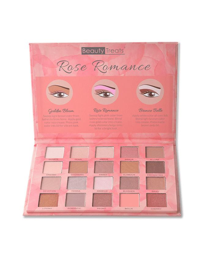 Beauty Treats Rose Romance - Eyeshadow Palette, COSMETIC